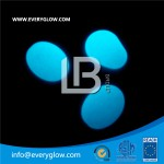 Blue color photoluminescent cobble LBSB-CS