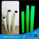 Everyglow photoluminescent solvent ink printing film