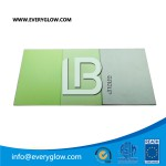 Everyglow photoluminescent pvc sheet Glow intensive: 10mns 150mcd/m2, 60mins, 19mcd/m