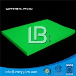 night glow photoluminescent pvc board