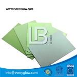 luminescent rigid sheet