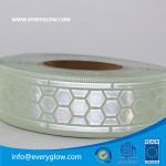 Glow and reflective tape 50mm honeycomb daylight