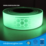 Glow and reflective tape 50mm honeycomb glow in dark