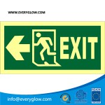 Lower case Exit with arrow left