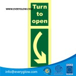 Turn to open down right