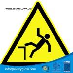 Warning of danger of falling