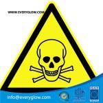 Warning of toxic substances