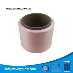 Pink polyster yarn 150D