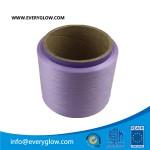 Purple polyster yarn 150D