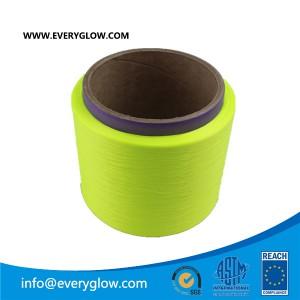 Yellow polyster yarn 150D