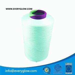 aqua DTY 300d yarn