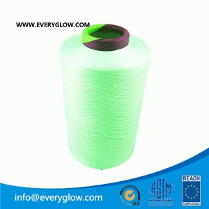 bright green dty 300d yarn