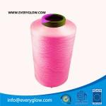 rose red yarn 300d dty polyster