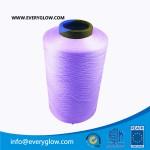 violet 300d dty polyster yarn